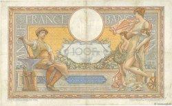 100 Francs LUC OLIVIER MERSON grands cartouches FRANCE  1928 F.24.07 TTB