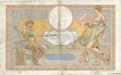 100 Francs LUC OLIVIER MERSON type modifié FRANCE  1938 F.25.08 pr.TTB