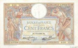100 Francs LUC OLIVIER MERSON type modifié FRANCE  1938 F.25.10 TTB+