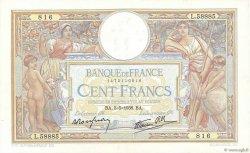 100 Francs LUC OLIVIER MERSON type modifié FRANCE  1938 F.25.17 TTB+