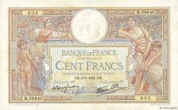 100 Francs LUC OLIVIER MERSON type modifié FRANCE  1938 F.25.22 TTB
