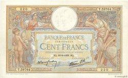 100 Francs LUC OLIVIER MERSON type modifié FRANCE  1938 F.25.23 TTB
