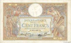 100 Francs LUC OLIVIER MERSON type modifié FRANCE  1939 F.25.40 pr.TTB