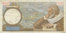 100 Francs SULLY FRANCE  1939 F.26.07 TB