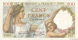 100 Francs SULLY FRANCE  1939 F.26.09 pr.SUP