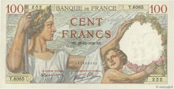 100 Francs SULLY FRANCE  1939 F.26.19 SUP+