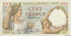 100 Francs SULLY FRANCE  1940 F.26.24 SUP