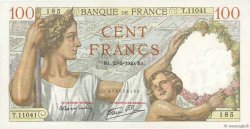 100 Francs SULLY FRANCE  1940 F.26.30 SPL