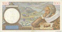 100 Francs SULLY FRANCE  1940 F.26.33 TTB