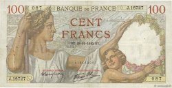 100 Francs SULLY  FRANCE  1940 F.26.41 TB