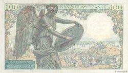 100 Francs DESCARTES FRANCE  1942 F.27.01 TTB+