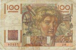 100 Francs JEUNE PAYSAN FRANCE  1945 F.28.01 B