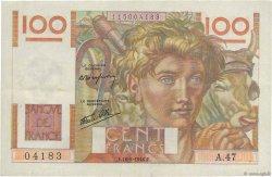 100 Francs JEUNE PAYSAN FRANCE  1946 F.28.04 TTB