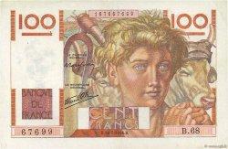 100 Francs JEUNE PAYSAN FRANCE  1946 F.28.06 TTB