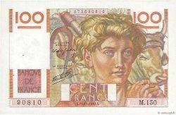 100 Francs JEUNE PAYSAN FRANCE  1946 F.28.11 SPL