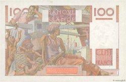 100 Francs JEUNE PAYSAN FRANCE  1953 F.28.39 SPL