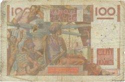 100 Francs JEUNE PAYSAN filigrane inversé FRANCE  1952 F.28bis.01 B