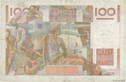 100 Francs JEUNE PAYSAN filigrane inversé FRANCE  1952 F.28bis.02 TB