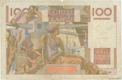 100 Francs JEUNE PAYSAN filigrane inversé FRANCE  1952 F.28bis.02 B
