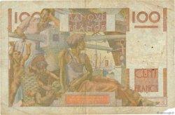 100 Francs JEUNE PAYSAN filigrane inversé FRANCE  1953 F.28bis.03 B