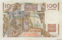 100 Francs JEUNE PAYSAN filigrane inversé FRANCE  1954 F.28bis.05 TB