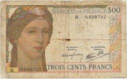 300 Francs FRANCE  1938 F.29.01 pr.B