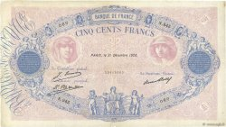 500 Francs BLEU ET ROSE FRANCE  1926 F.30.29 TB+