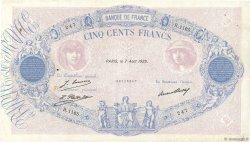 500 Francs BLEU ET ROSE FRANCE  1929 F.30.32 pr.TTB
