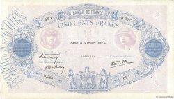 500 Francs BLEU ET ROSE modifié FRANCE  1939 F.31.44 TB