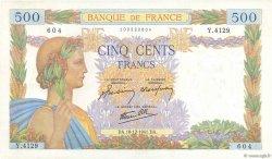 500 Francs LA PAIX FRANCE  1941 F.32.25 SPL