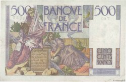 500 Francs CHATEAUBRIAND FRANCE  1945 F.34.03 TTB