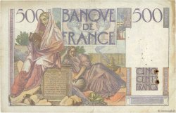 500 Francs CHATEAUBRIAND FRANCE  1946 F.34.04 TB