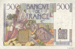 500 Francs CHATEAUBRIAND FRANCE  1946 F.34.04 pr.TTB