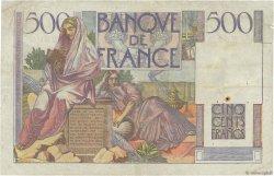500 Francs CHATEAUBRIAND FRANCE  1946 F.34.04 B+