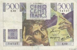 500 Francs CHATEAUBRIAND FRANCE  1946 F.34.04 TB