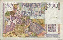 500 Francs CHATEAUBRIAND FRANCE  1946 F.34.04 TB+
