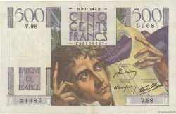 500 Francs CHATEAUBRIAND FRANCE  1947 F.34.07 TTB