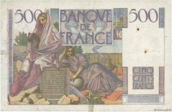 500 Francs CHATEAUBRIAND FRANCE  1952 F.34.09 TB