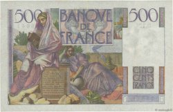 500 Francs CHATEAUBRIAND FRANCE  1952 F.34.10 SUP