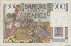 500 Francs CHATEAUBRIAND FRANCE  1953 F.34.12 pr.TTB