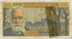 500 Francs VICTOR HUGO FRANCE  1958 F.35.09 pr.B