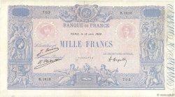 1000 Francs BLEU ET ROSE FRANCE  1922 F.36.38 pr.TTB