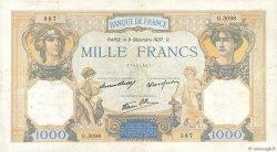 1000 Francs CÉRÈS ET MERCURE type modifié FRANCE  1937 F.38.06 TB