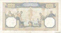 1000 Francs CÉRÈS ET MERCURE type modifié FRANCE  1938 F.38.26 TTB