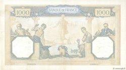 1000 Francs CÉRÈS ET MERCURE type modifié FRANCE  1938 F.38.29 TTB