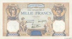 1000 Francs CÉRÈS ET MERCURE type modifié FRANCE  1939 F.38.33 SPL