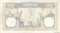 1000 Francs CÉRÈS ET MERCURE type modifié FRANCE  1939 F.38.39 TTB
