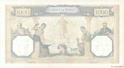 1000 Francs CÉRÈS ET MERCURE type modifié FRANCE  1940 F.38.50 SUP+