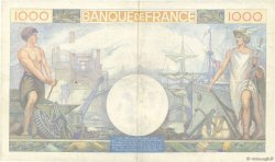 1000 Francs COMMERCE ET INDUSTRIE FRANCE  1940 F.39.01 pr.TTB