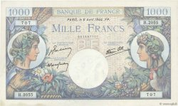 1000 Francs COMMERCE ET INDUSTRIE FRANCE  1944 F.39.05 pr.NEUF